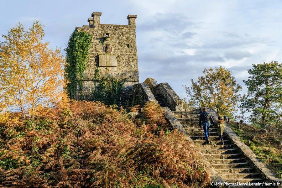 La Tour Denecourt dans la forêt de Fontainebleau