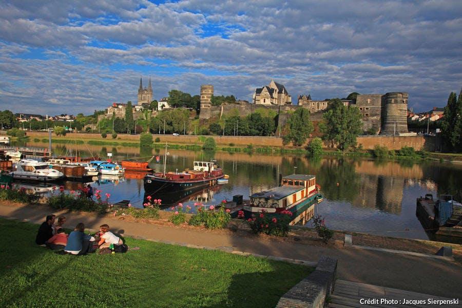 Le château des ducs d'Anjou à Angers