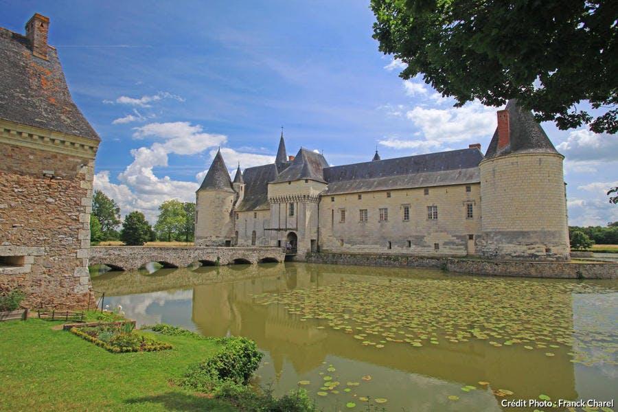 Douves du château de Plessis-Bourré, Maine-et-Loire