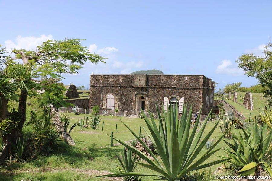 Le fort Napoléon, aux Saintes, en Guadeloupe
