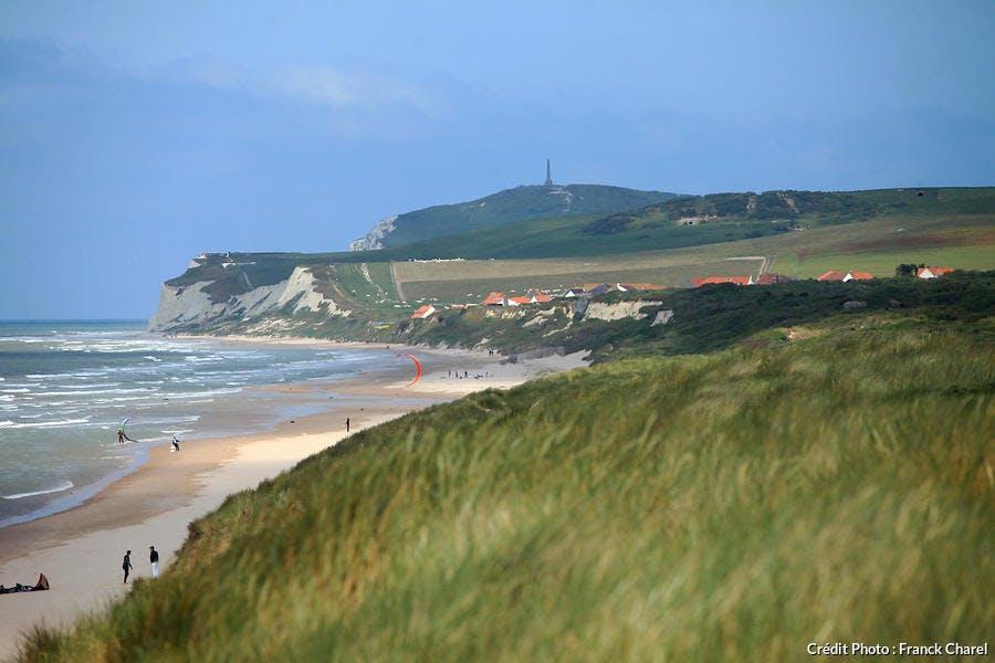 Wissant, vue depuis les dunes