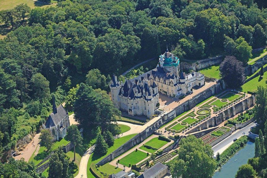 Le château de igné-Ussé