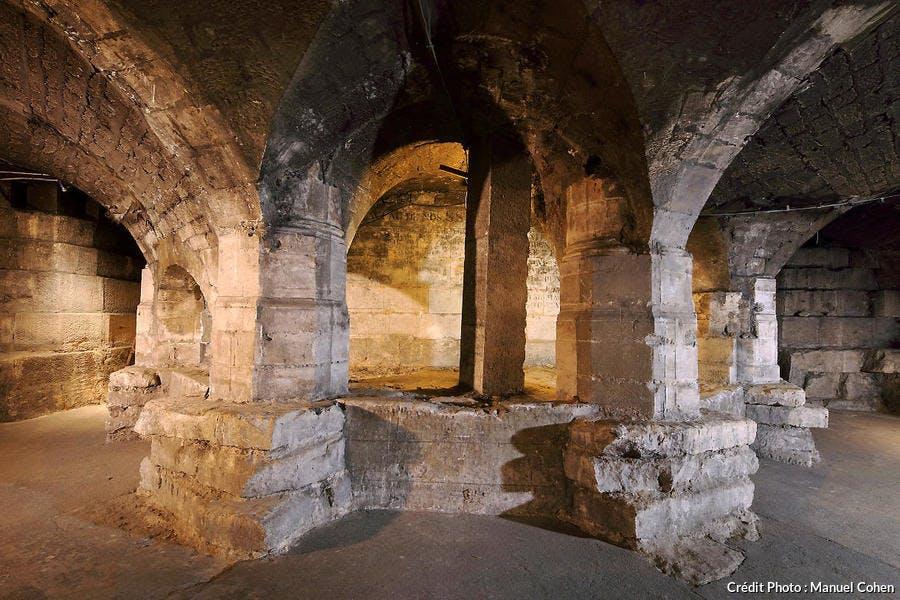 Crypte de l'église Saint-Sulpice, à Paris