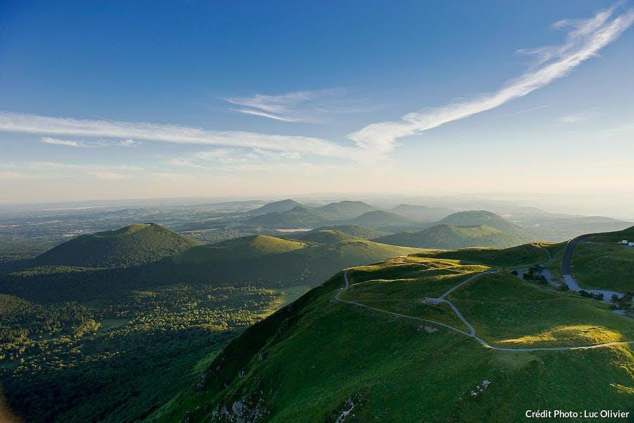 La chaine du Puy en Auvergne