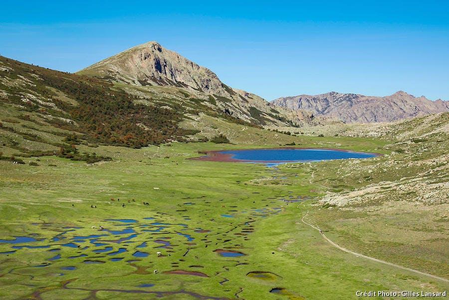 Lac de Nino dans la vallée de Restonica en Corse