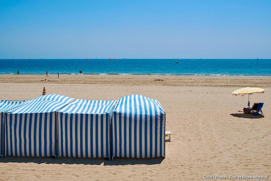 La plage de la Baule, en Loire-Atlantique