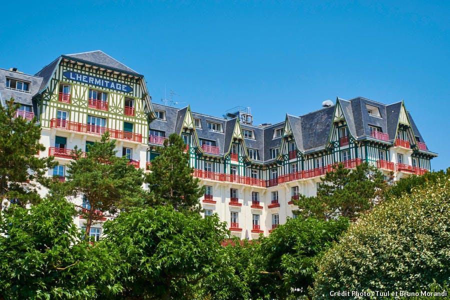 L'hôtel L'Hermitage, à la Baule