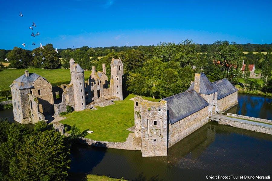 Le chateau de Gratot