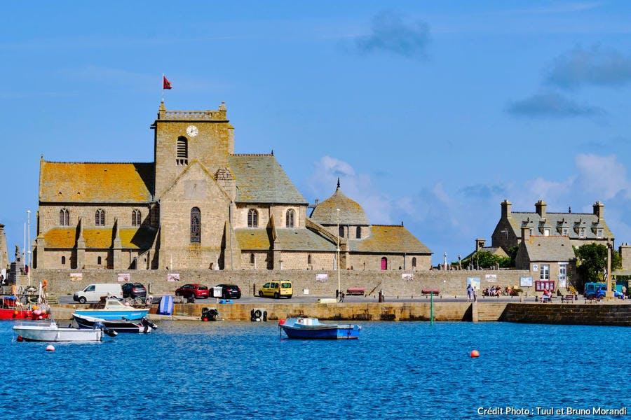 L'église Saint-Nicolas de Barfleur, Normandie