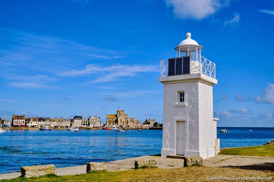 Le phare du Krako, Barfleur, Normandie