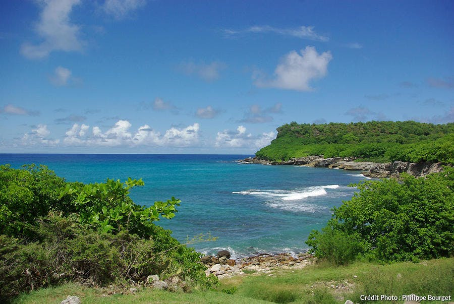 Pointe sud-ouest de l'île de la Désirade, Guadeloupe