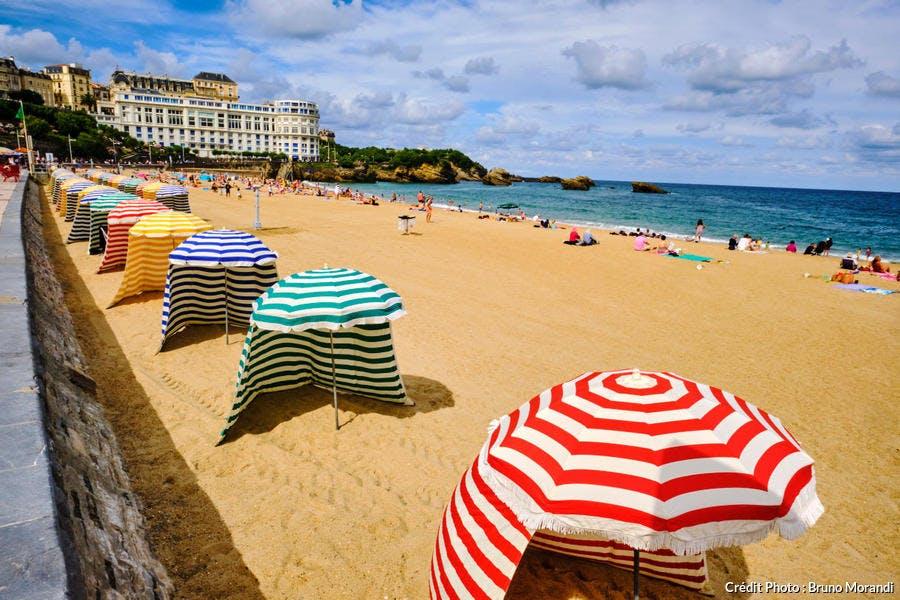 La Grande Plage de Biarritz