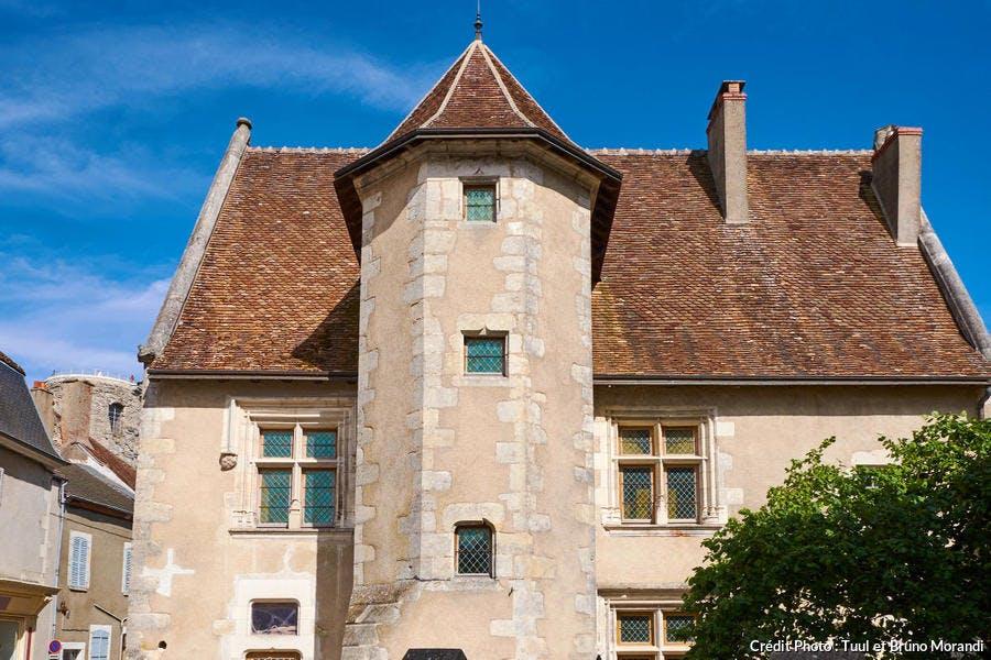 Maison de Jacques Coeur dans le village de Sancerre, Berry (Cher)