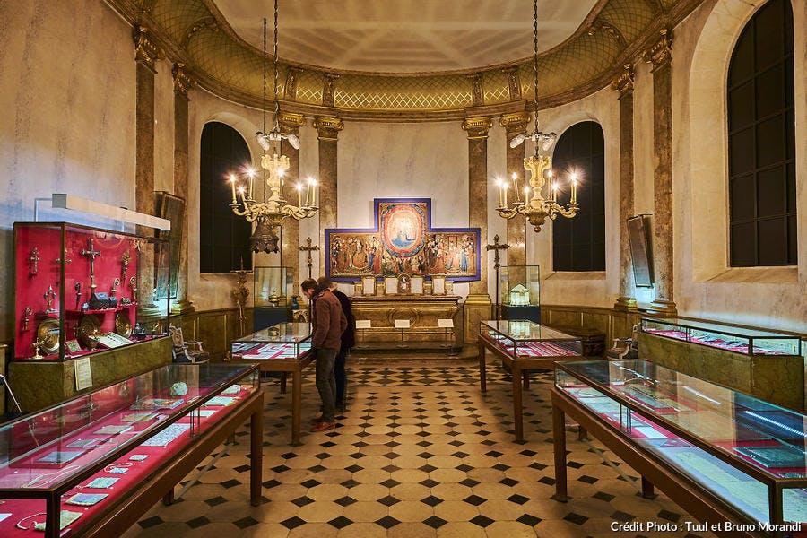 Intérieur de la cathédrale Saint-Etienne à Sens