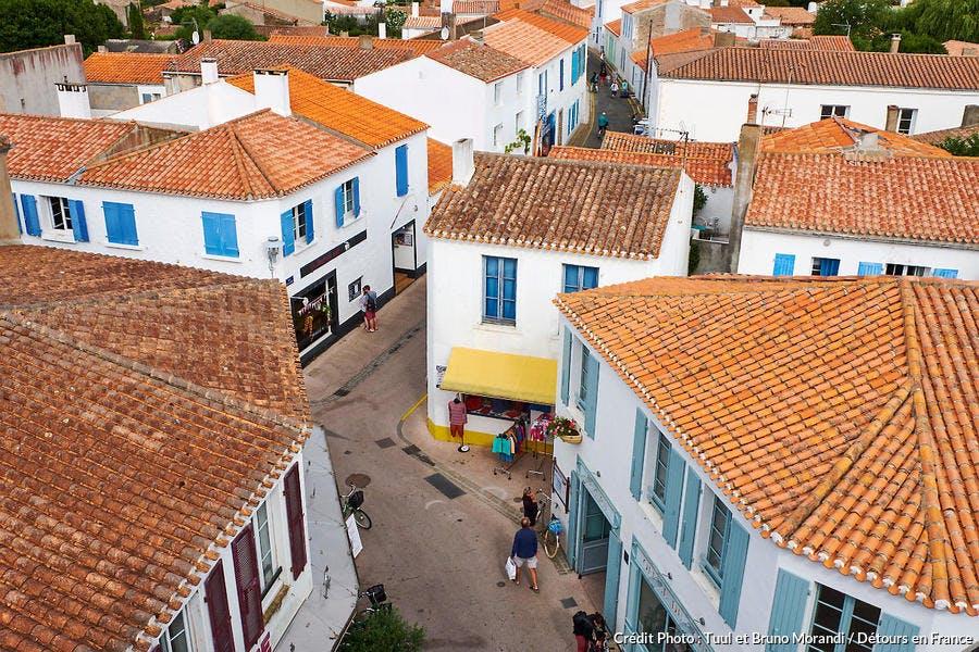 Port-Joinville sur l'île d'Yeu