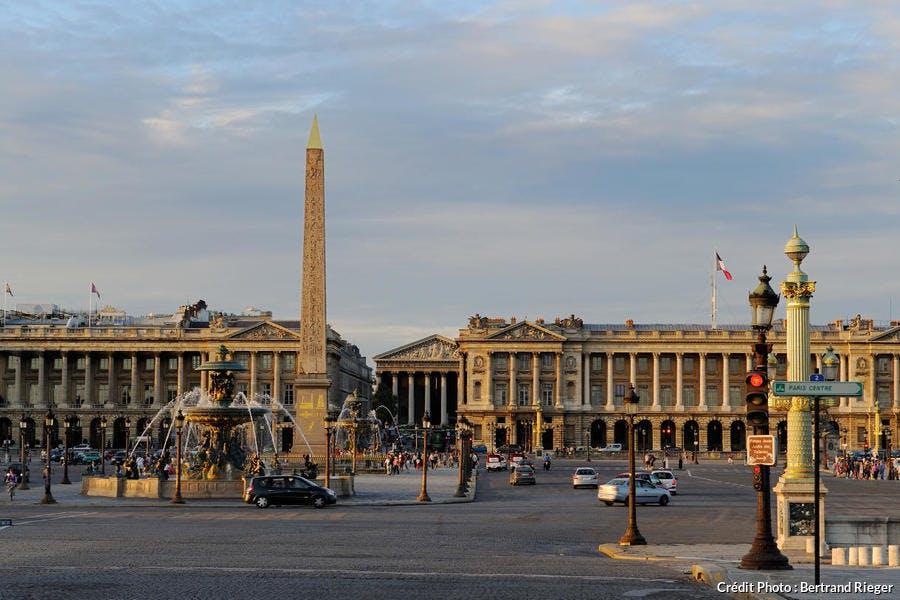 La place de la Concorde, à Paris