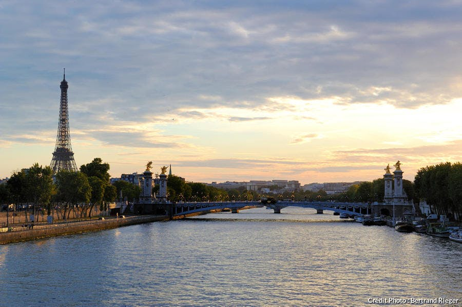 Les rives de la Seine à Paris