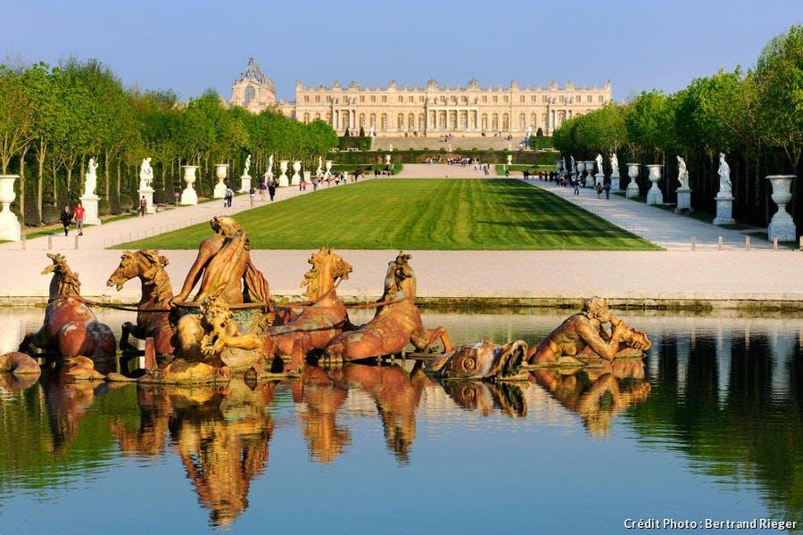 Le bassin d'Apollon à Versailles