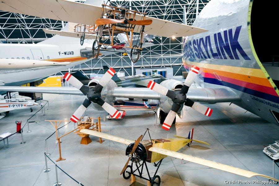 Le musée aéronautique Aeroscopia, à Toulouse