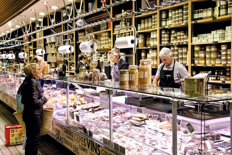 Le marché Victor Hugo, à Toulouse
