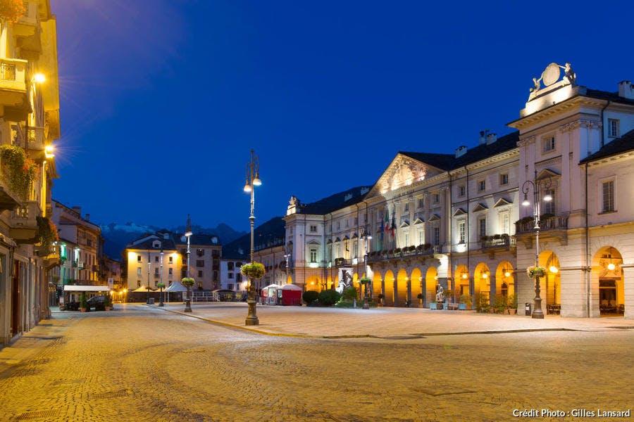 Centre historique du village d'Aoste