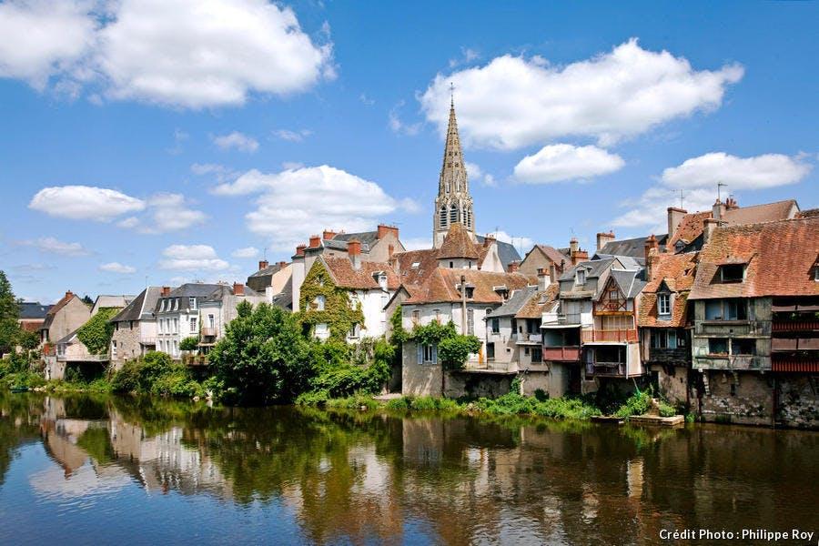 Argenton-sur-Creuse, dans l'Indre