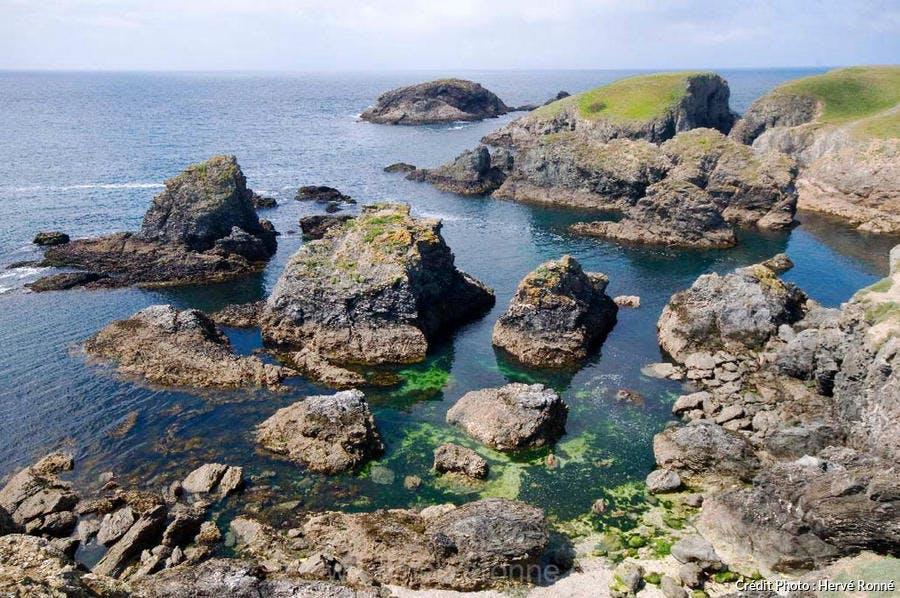 La Côte sauvage de Belle-Île-en-Mer