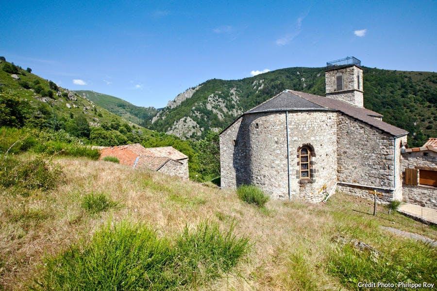 L'Église Saint-Sauveur en plein cœur de Borne
