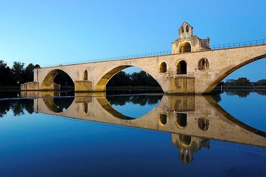 Le pont Saint-Bénézet en Provence