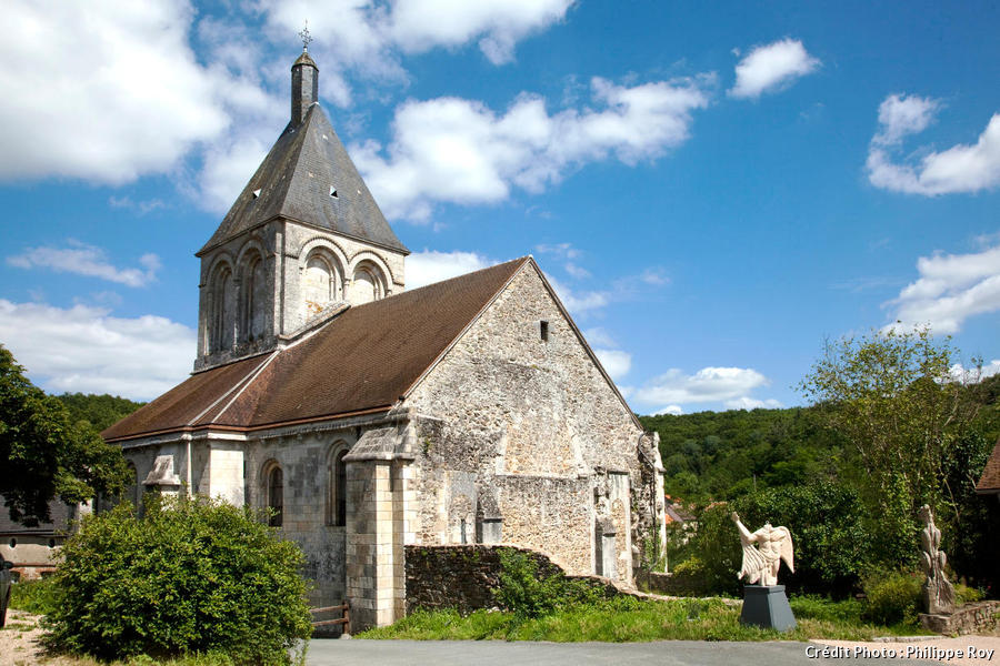 L'église romane de Gargilesse-Dampierre, en Creuse (Limousin)