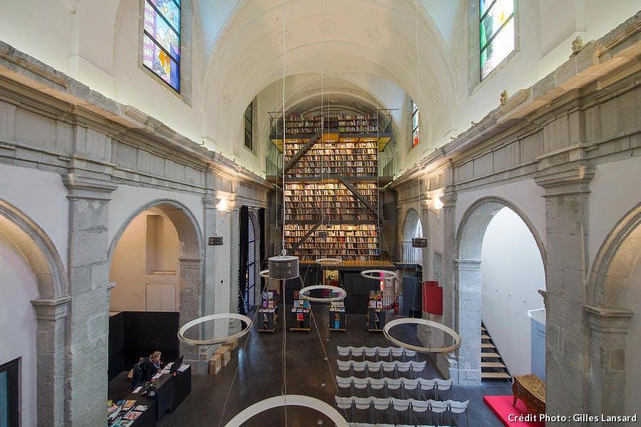 Le couvent sainte Cécile, siège des éditions Glénat, à Grenoble