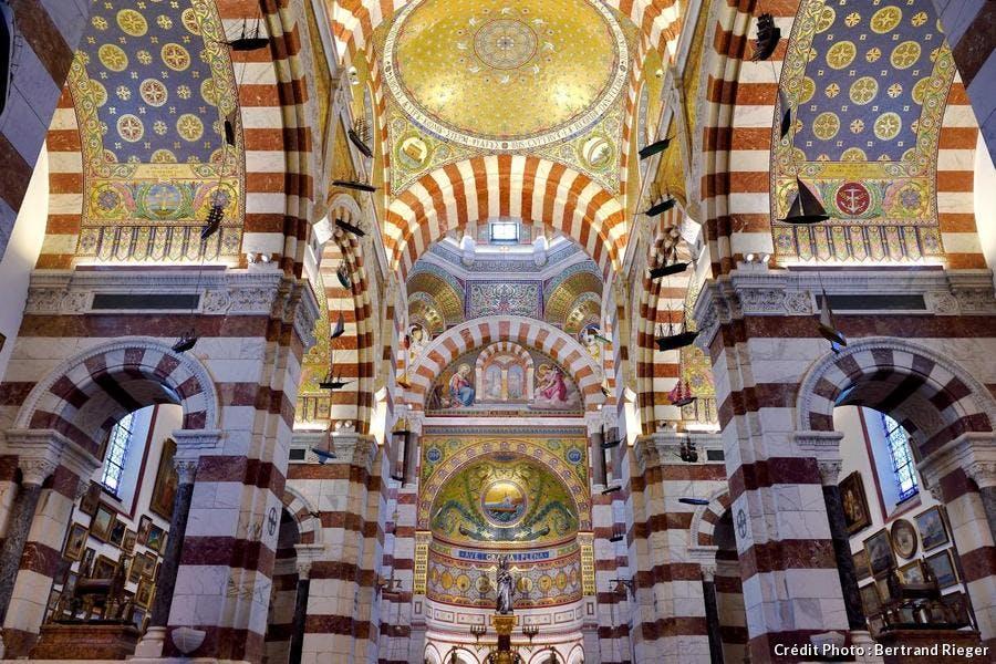 intérieur de Notre-Dame de la Garde