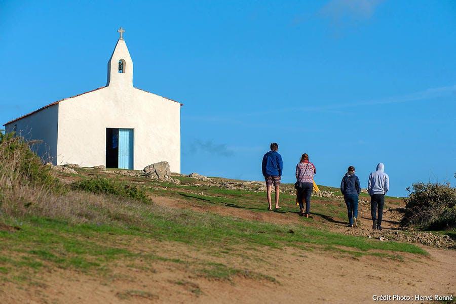 La Chapelle Notre-Dame-de-Bonne-Nouvelle sur l'île d'Yeu