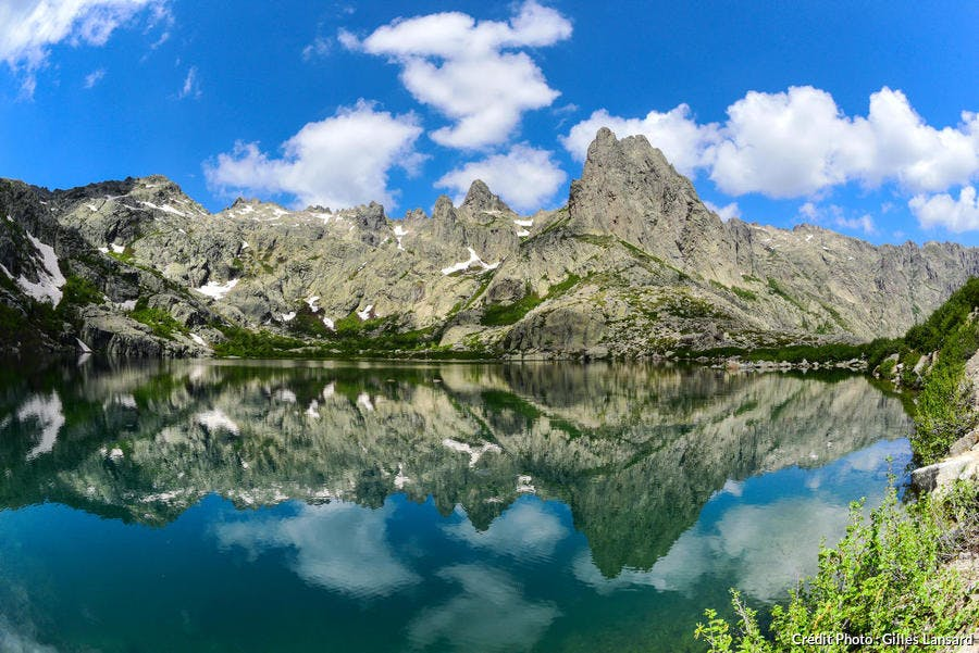 Le lac Melo en Corse