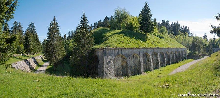 Fort des Rousses dans le Jura