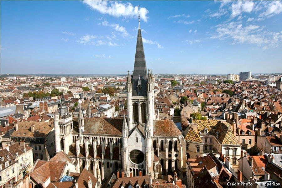 L'église Notre-Dame de Dijon, en Bourgogne