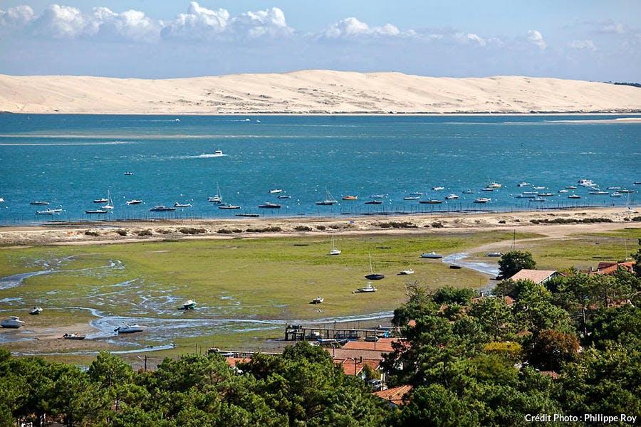La dune du Pilat vue depuis le phare du Cap Ferret