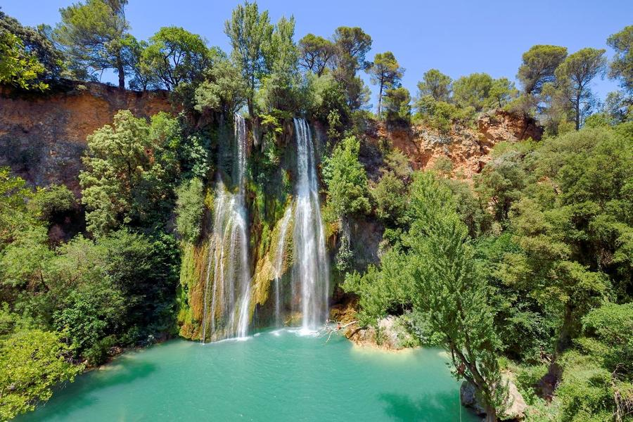 La cascade de Sillans-la'Cascade