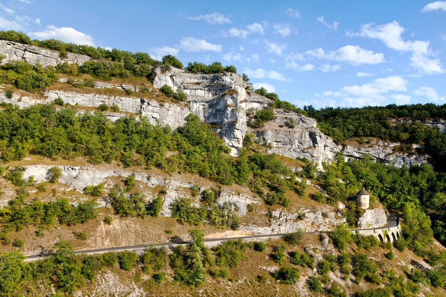 Le canyon de l'Alzou