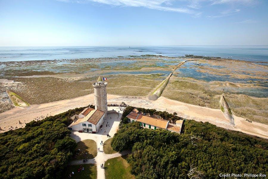 La pointe des Baleines sur l'île de Ré, en Charente-Maritime (Poitou-Charentes)