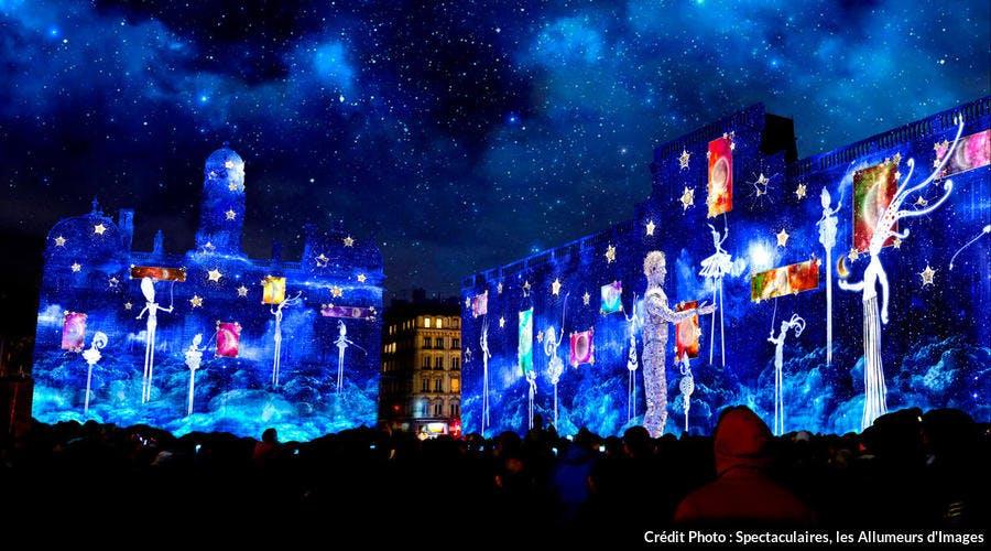 Fête des Lumières de Lyon, simulation pour l'édition 2019