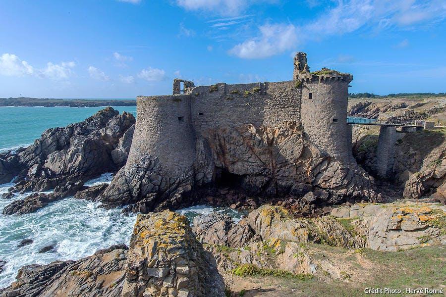Le Vieux-Château sur l'île d'yeux
