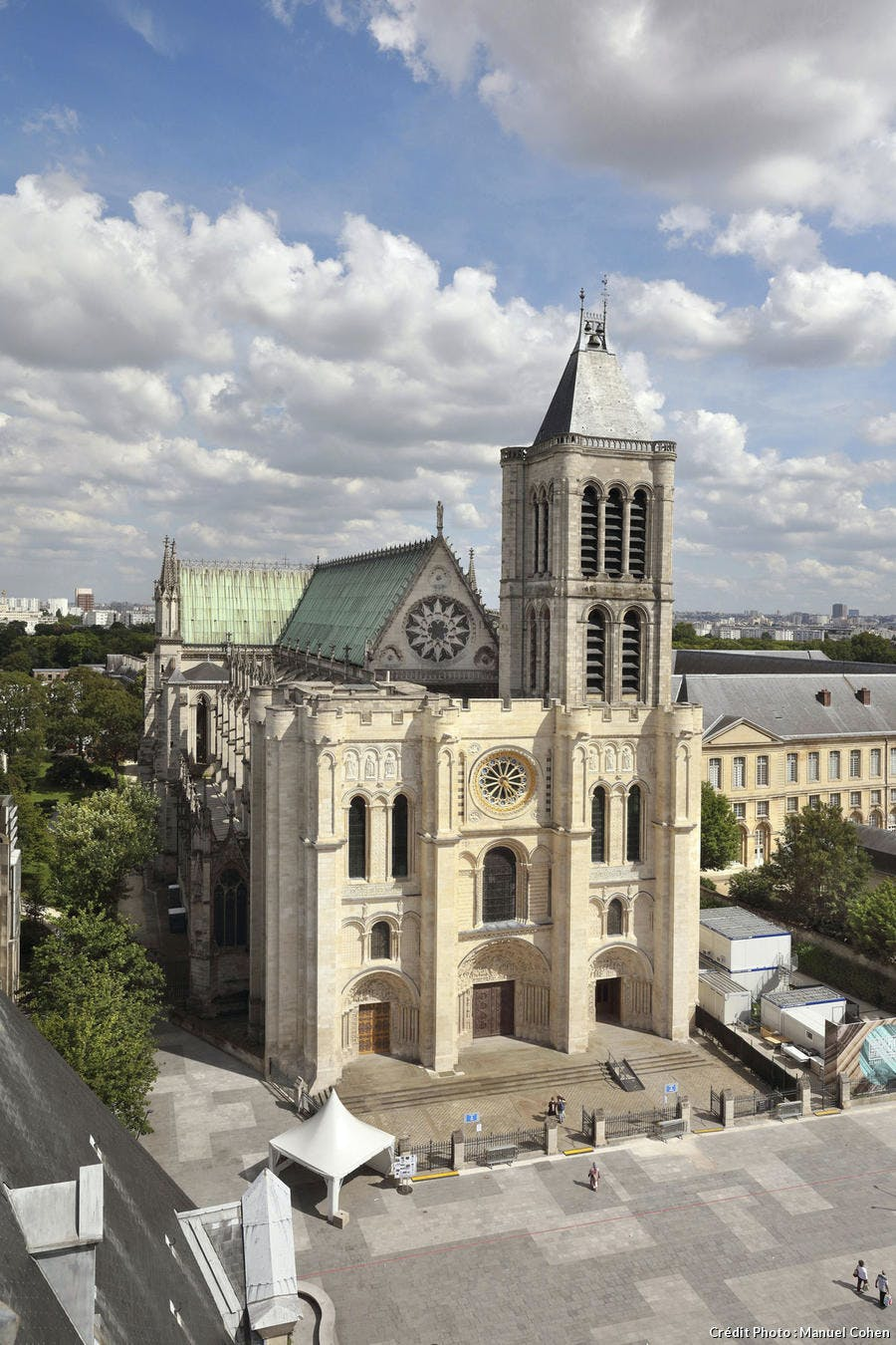 La basilique-cathédrale de Saint-Denis