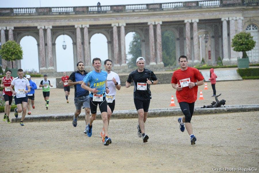 coureurs à Versailles