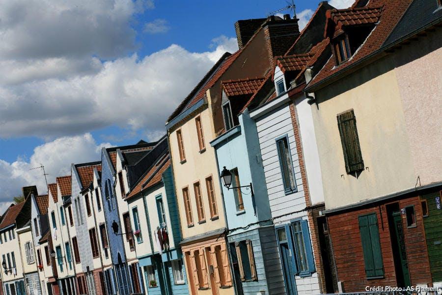 Quartier Saint-Leu à Amiens