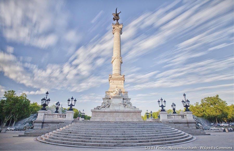 Place des Quinconces à Bordeaux