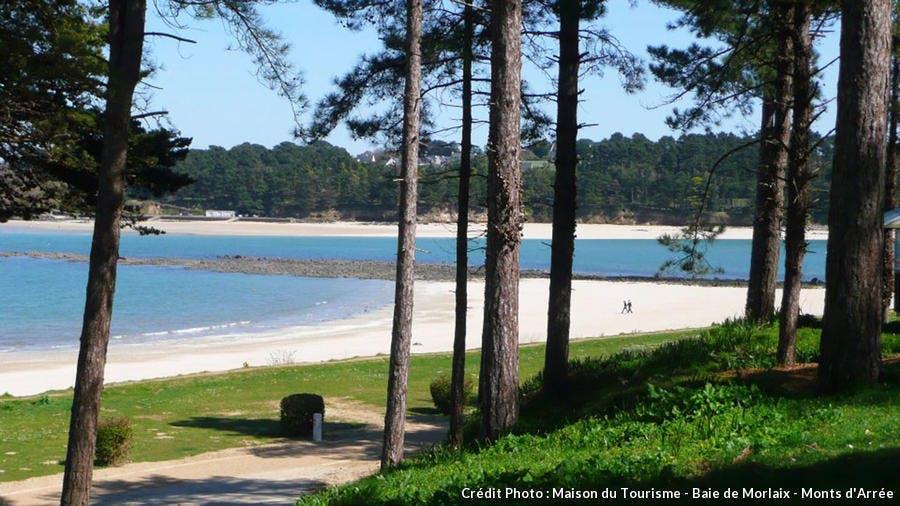 La plage du Fond de la Baie