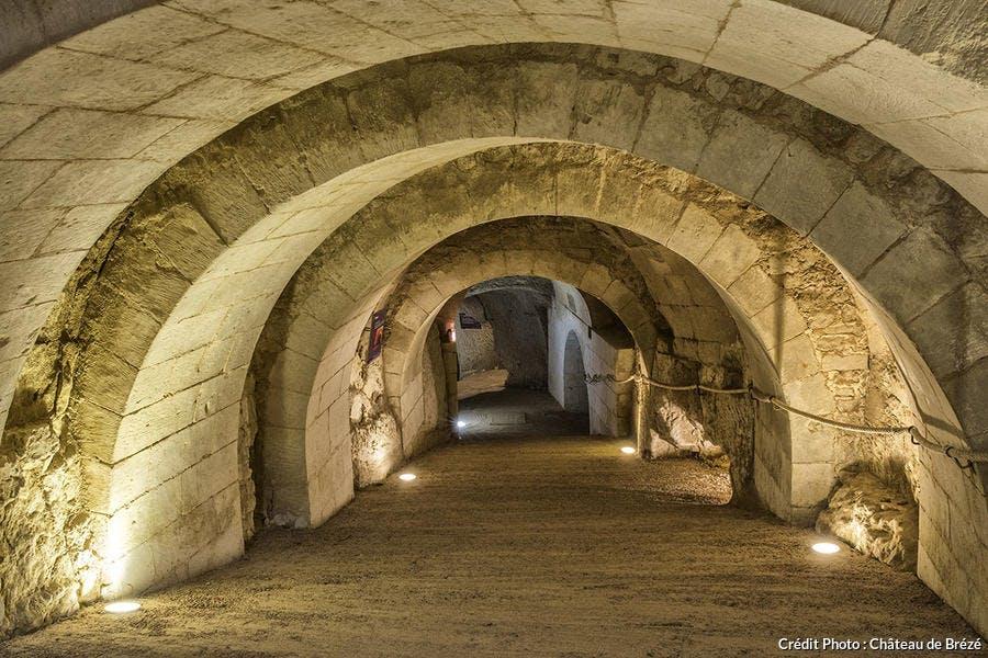 Les souterrains du château de Brézé
