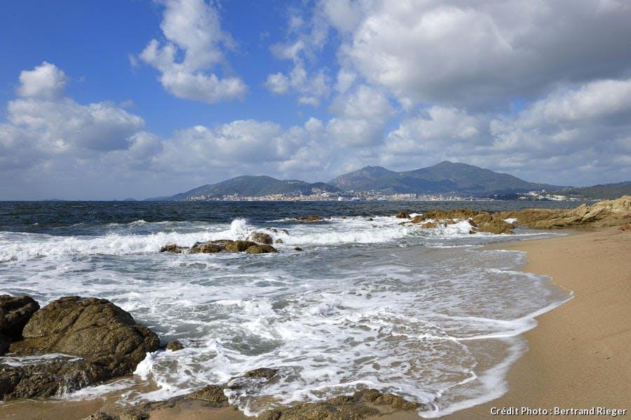 La plage de Capitello, en Corse-du-Sud
