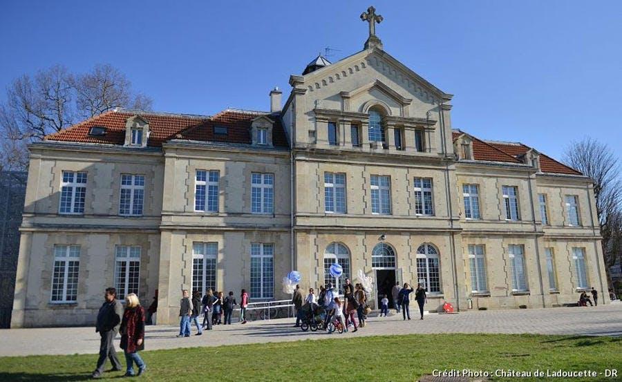 Le château de Ladoucette, à Drancy